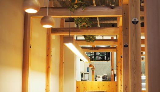 moriwaku cafeは木の香りが漂うおしゃれなカフェ