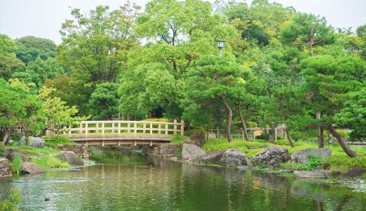 名古屋の美しい庭園5選。写真撮影やお散歩におすすめ!