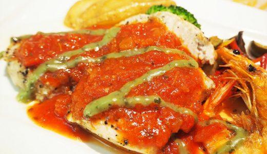 名古屋港水族館内のレストラン「アリバダ」で鮫肉を食べる…!