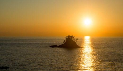 篠島を日帰りで観光! 青い空と海、美しい夕陽に惚れ惚れ。