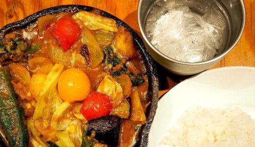 具沢山!「野菜を食べるカレーcamp ユニモール店」のメニュー
