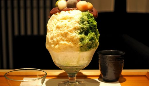 栄「緋毬」かき氷のラインナップ。人気メニューはこれ!