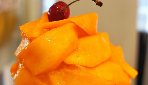 トップフルーツ八百文のかき氷。果物たっぷりなのにリーズナブル!