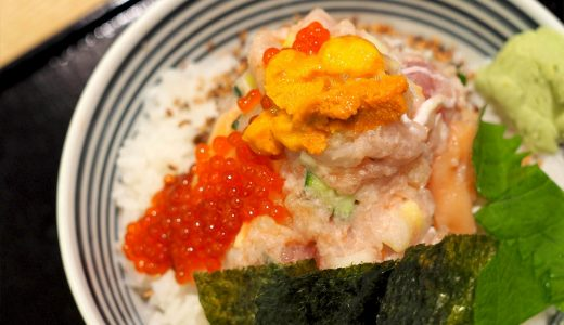 海鮮丼の「つじ半」がららぽーと名古屋に! 4種類のぜいたく丼を提供
