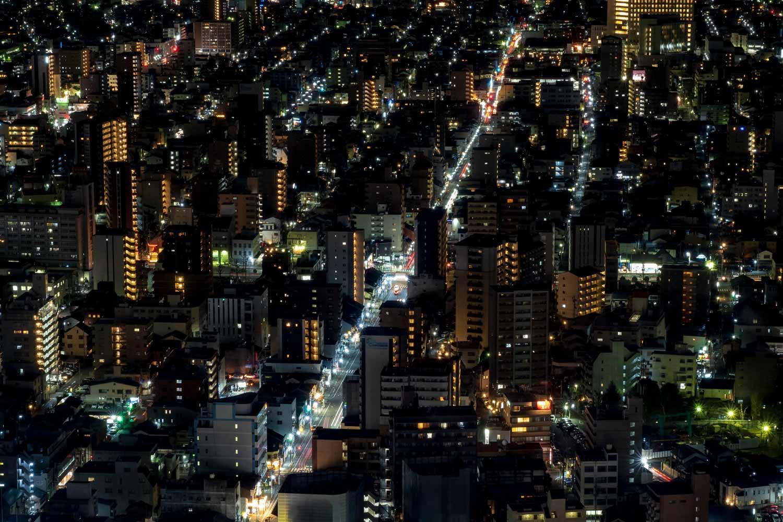 名古屋マリオットアソシアホテルの夜景