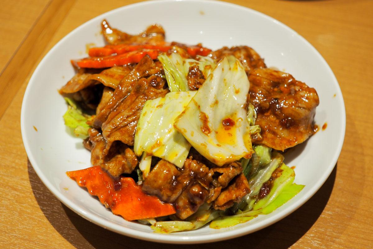 味仙の回鍋肉