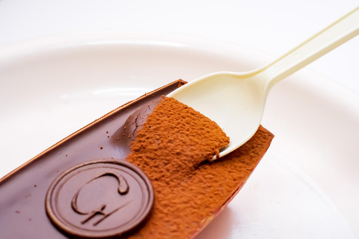 ショコラスフレを食べてみる