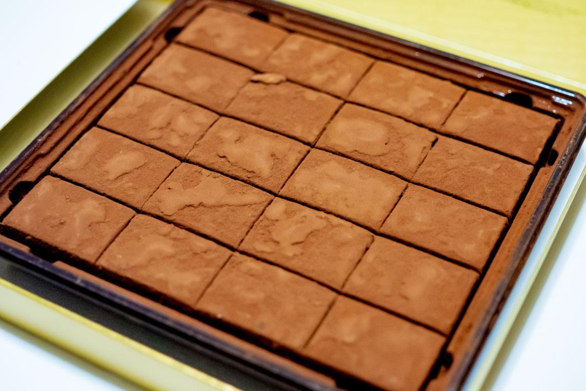 山崎シェリーウッドの生チョコ