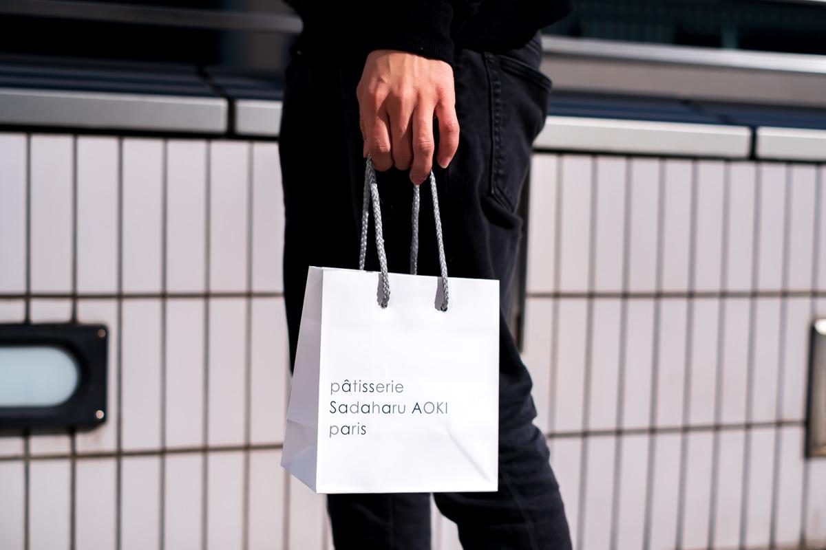 パティスリー・サダハル・アオキ・パリの紙袋