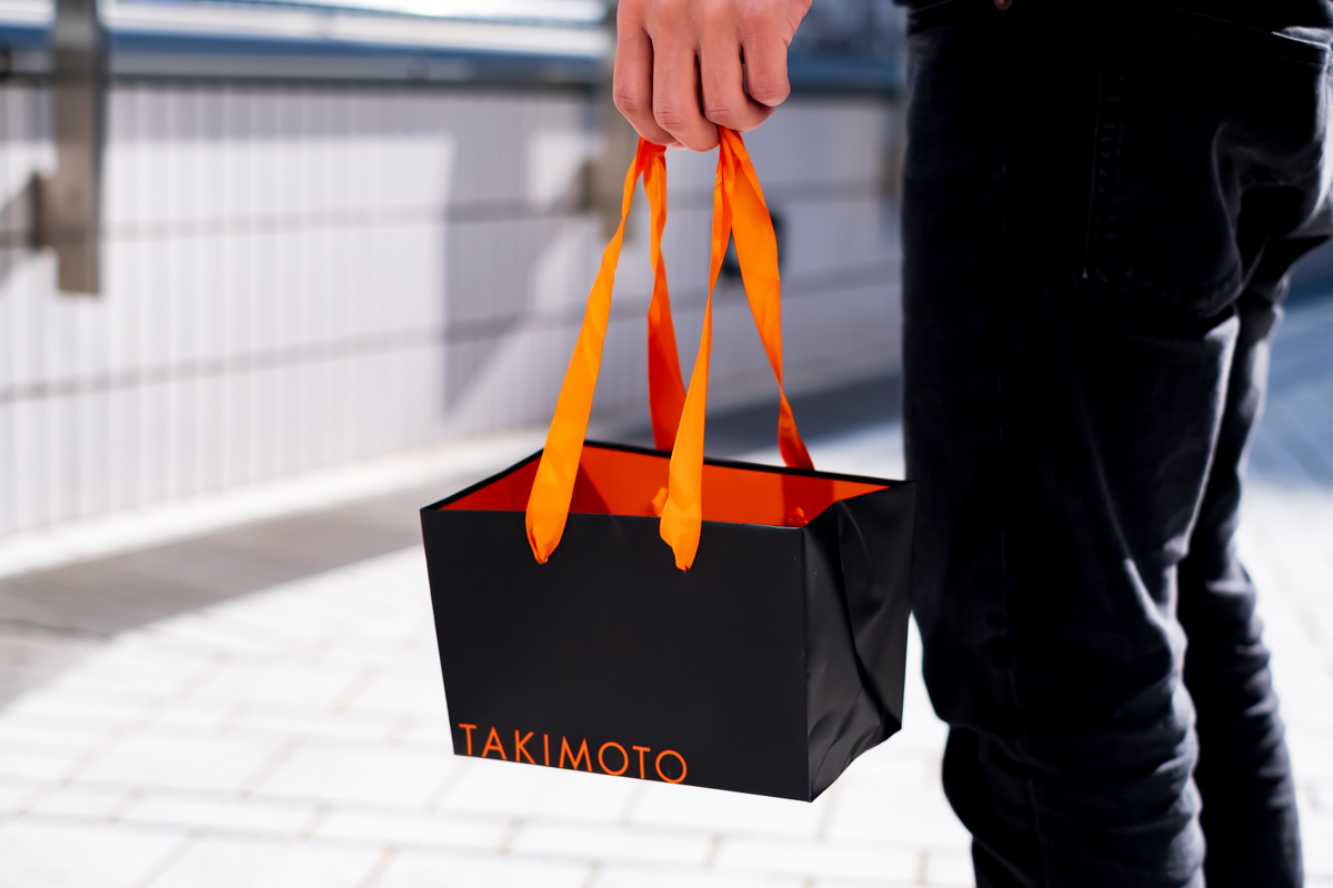 タキモトの紙袋