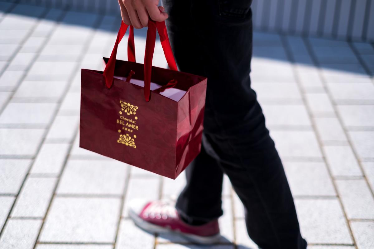 ベルアメール 京都別邸の紙袋