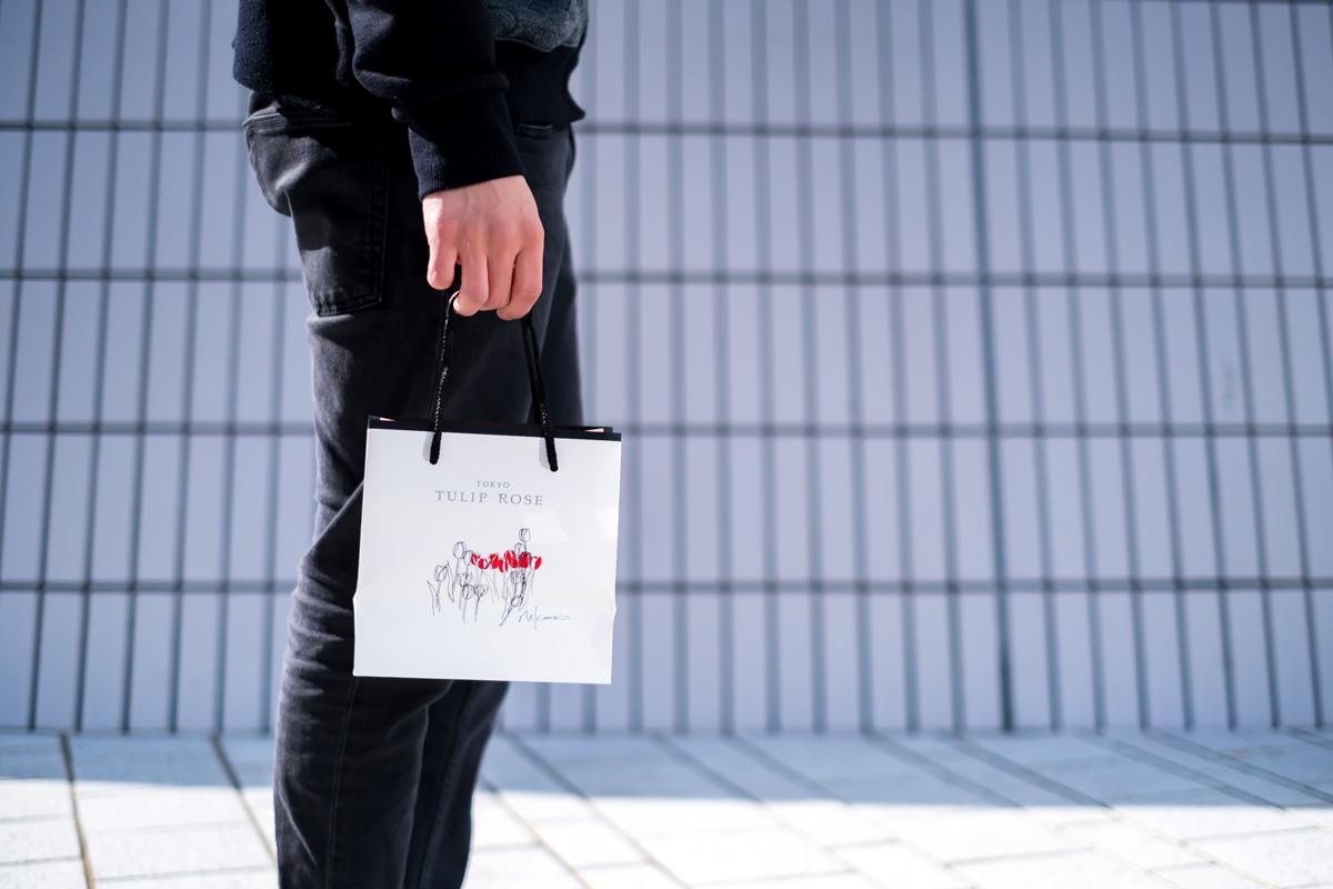 TOKYOチューリップローズの紙袋