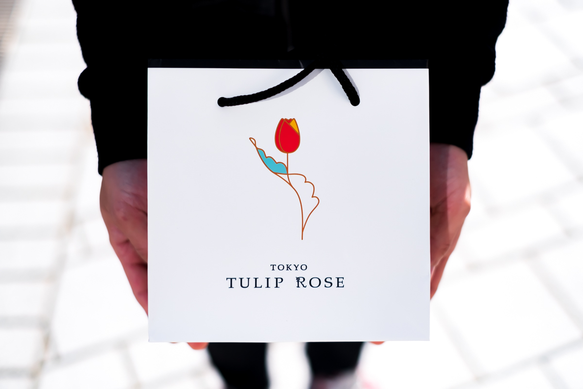 TOKYOチューリップローズの紙袋を拡大