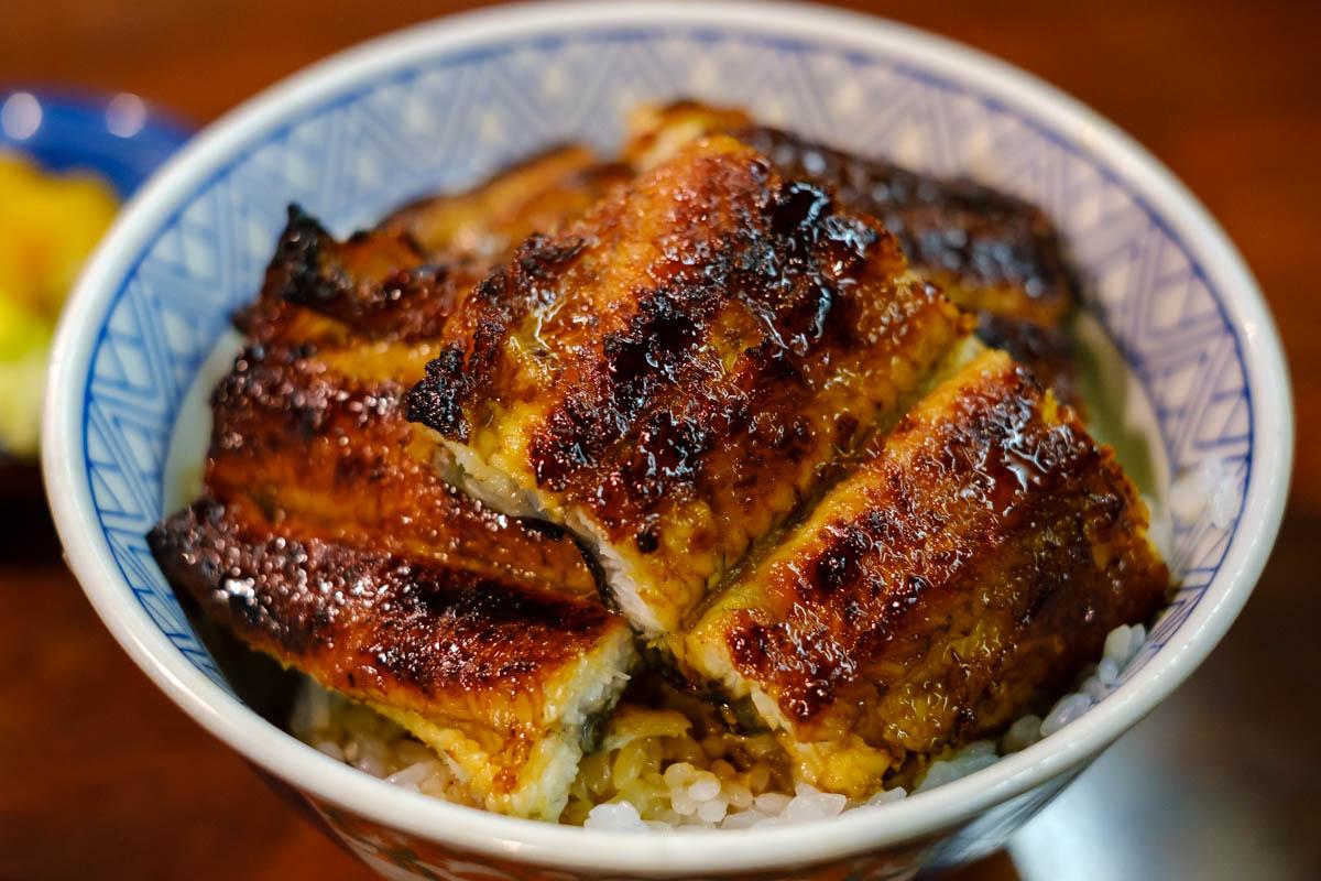 イチビキの鰻丼