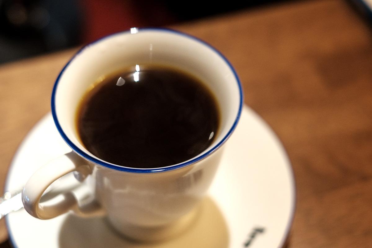 喫茶ニューポピーのブレンドコーヒー