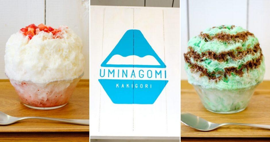 かき氷専門店「uminagomi」