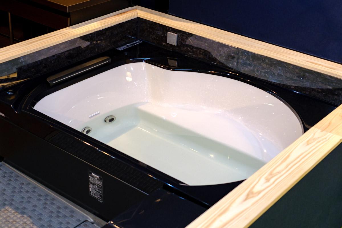 展示用のお風呂