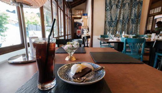 有松「庄九郎」のランチとカフェタイムに小休憩。古民家の雰囲気に癒される