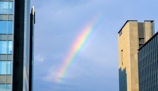 雨上がりの虹 2019年6月12日