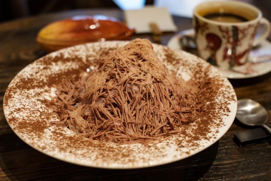ショコラトリータカスのかき氷